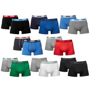 Puma-4er-Pack-Basic-Boxer-Short-Boxershort-S-XXL-Farbwahl-Unterhose-NEU