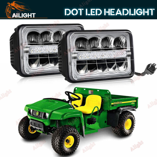 John Deere Gators >> Pair John Deere Gator Led Headlight 4x2 6x4 Utility Vehicle