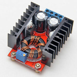 DC-DC 150W Adjustable Step Up Boost Converter Power Supply 10-32V to 12-35V 10A