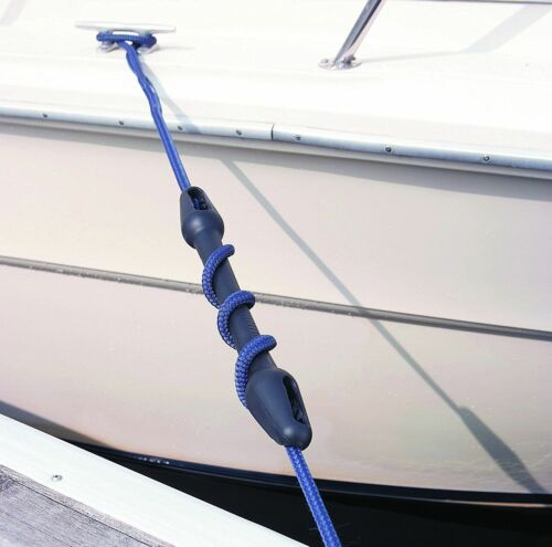 """Marine Mooring Snubber Boat Dock Line Rubber Snubber Black 22-24mm 7//8/"""""""