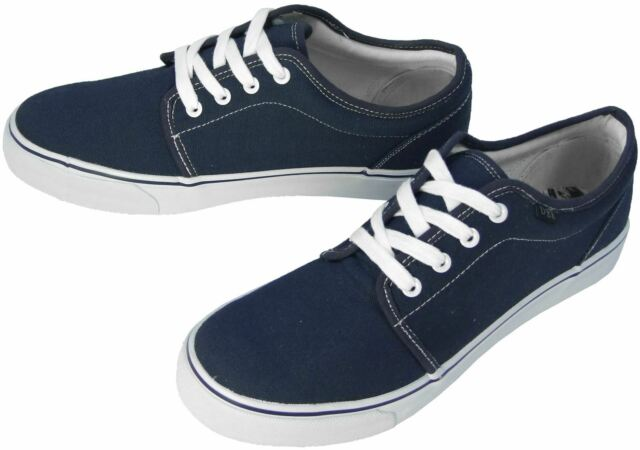 777fb21f3f Clearance DEK Hector Unisex Canvas Casual Lace-up Flat Deck Shoes ...