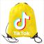 Boys-Girls-Tik-Tok-Drawstring-Backpack-PE-Swim-Gym-Sports-School-Bag-Rucksack-UK thumbnail 3