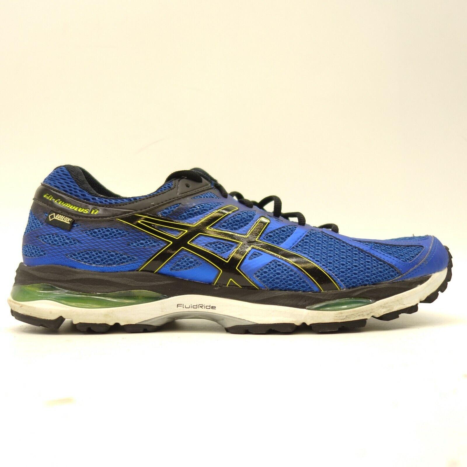 Asics Gel Cumulus 17 Wp US 12 Eu 46.5 Blau Sportliche Laufen Trainieren
