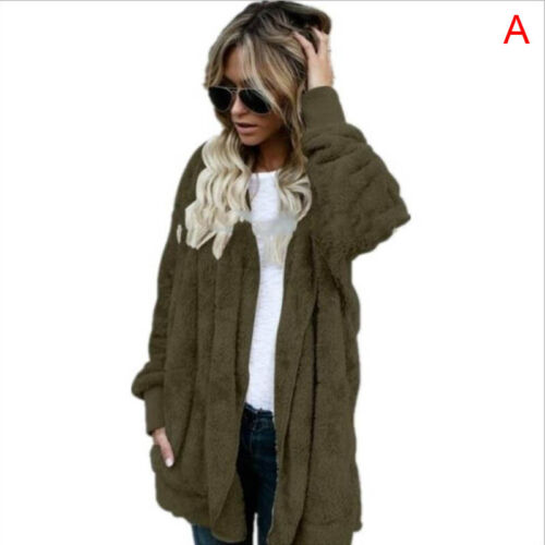 Women Winter Warm Hooded Knitted Sweater Ladies Cardigan Outfit Coat Jack/%t