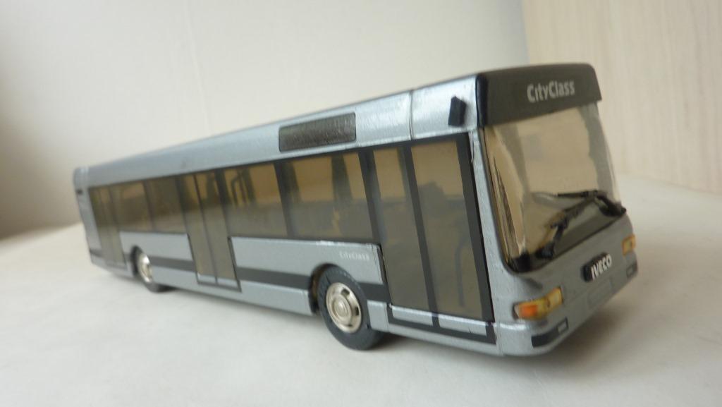 1 43 iveco - bus  stadt - klasse  - reise - bus coatch alte autos insgesamt