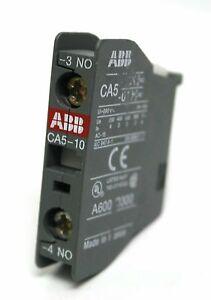 ABB Auxiliary Contactor Block Cat No CA5-10 690V Max 16 Amp.