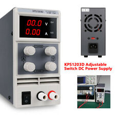 Adjustable Lab 0 120v Variable Linear Power Supply Dc Bench With Digital Display