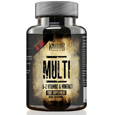 Warrior Essentials Multi Vitamins & Minerals - 60 Tablets For Men And Women