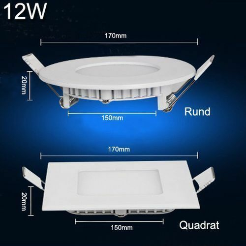 ULTRASLIM Pannello LED Incasso Soffitto Lampada Lampada Lampada Muro Faretto da incasso luce con trasformatore bd82db