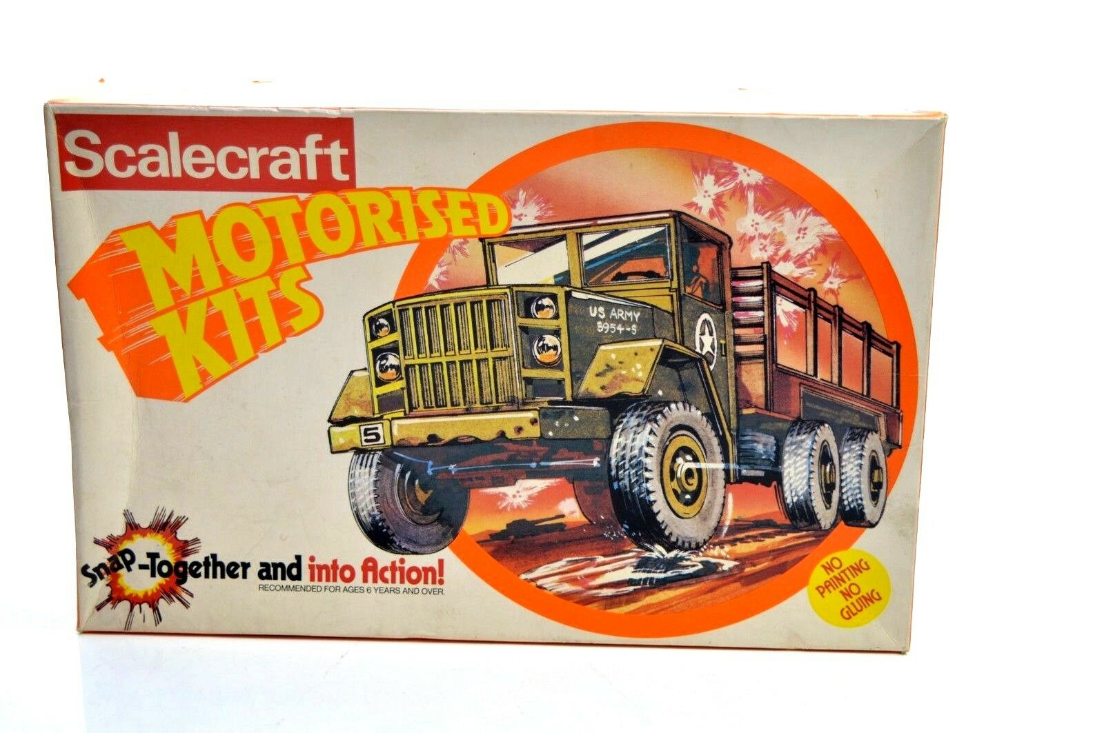 SCALECRAFT MOTORISED KIT. 2.5 TON ARMY TRUCK TRUCK TRUCK 065