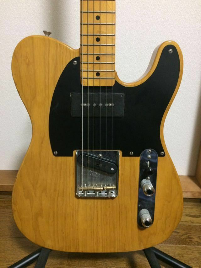 Fender Japan TL52-95 beautiful rare EMS F/S