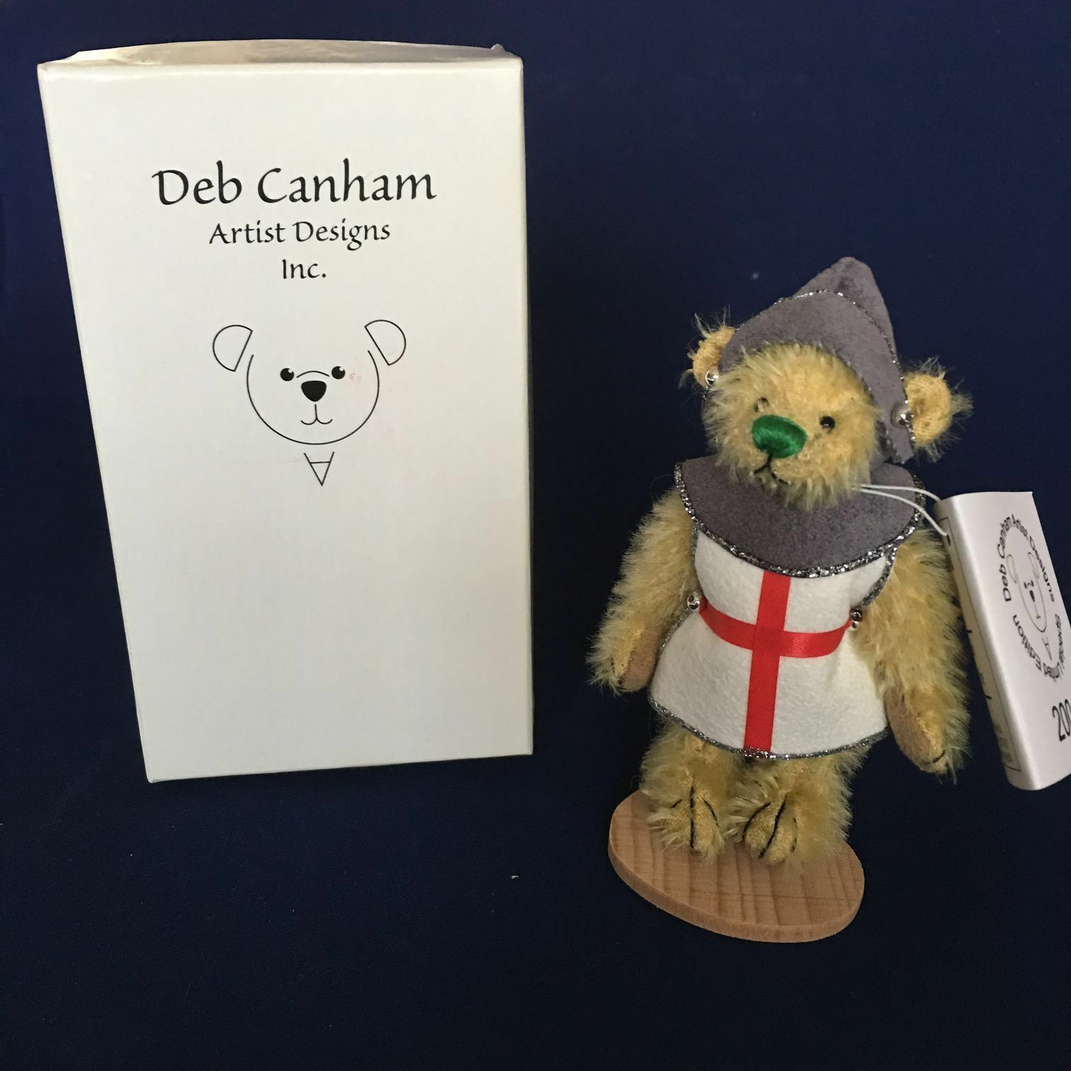 George from the British Collection by Deb Canham Limited 147/500 3.75in NEW NIB