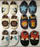 ★CoolKids★ Chaussons écologiques CUIR SOUPLE, bebe, enfant 12-18 ★18-24 mois