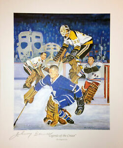 Legends-Of-The-Crease-Signed-Lithograph-Bower