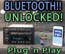 Gmc 2005 04 06 Chevy Truck Radio Am Fm 6 Disc Player Bluetooth Music Pn 15234935