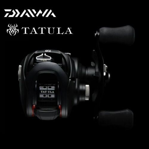 2019 DAIWA TATULA 100//150//200 7BB+1RB Saltwater Fishing Baitcasting Reel