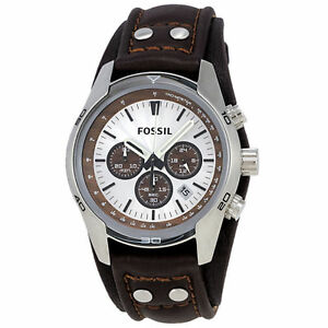 ae653dce7325d Fossil Coachman CH2565P 45mm Wrist Watch for Men Brown for sale ...