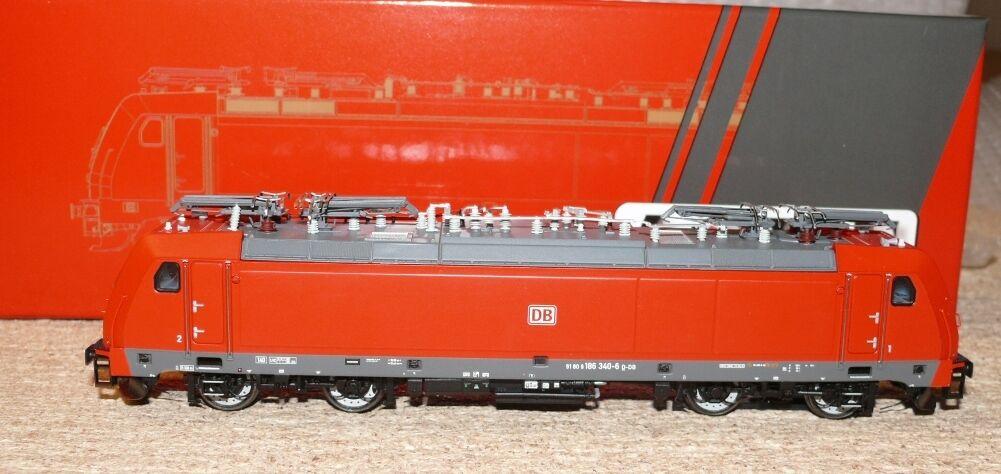 HS ACME AC 65412 elektrolokomotive BR 186 delle DB Schenker A/C F. corrente alternata