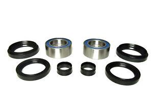Pair-of-Front-Wheel-Bearing-amp-Seal-Kits-2007-2014-Honda-Rancher-420-4x4