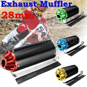 28mm Exhaust Muffler Clamp For TTR CRF50 SSR Thumpstar 50 90 110 125cc Dirt Bike