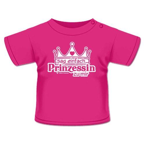 Anna /& Philip Baby Kind Fun Spruch T-Shirt Pink Einfach Prinzessin Größenwahl