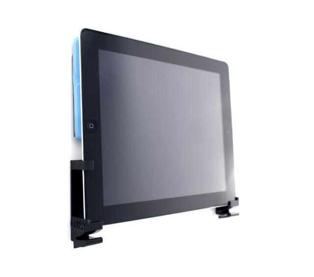 New iPad, iPad 1, iPad 2,  iPad 3 Wall Mount by Dockem (damage-free, black)