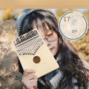 17-Keys-Kalimba-African-Solid-Pine-Wood-Thumb-Piano-Finger-Percussion-DITPI