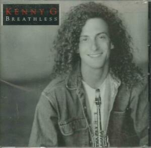 二手 KENNY G BREATHLESS 美國版 CD