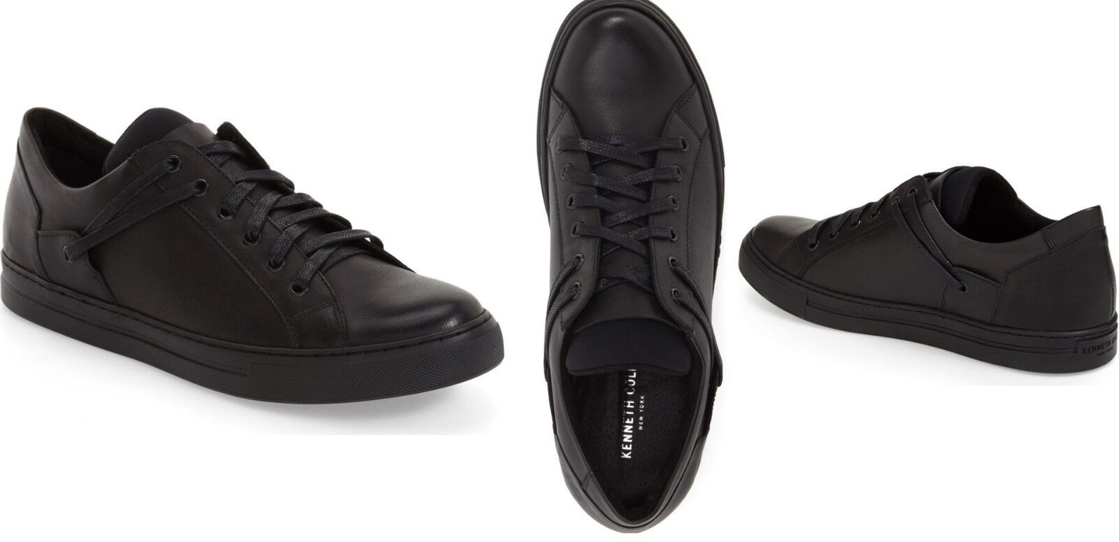 Kenneth Cole Homme baskets Chaussures Double Helix II Baskets Chaussures En Cuir 11 M