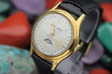 Vintage ARSA Extra A. REYMOND Automatic Triple Date Moon Phase Dress Watch