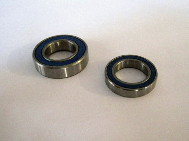 6902-2RS 6901-2RS HYBRID CERAMIC Si3N4 ABEC5 BALLBEARING KIT 2 PIECES