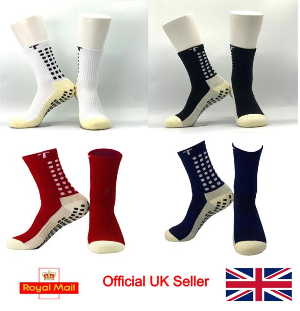 Trusox Unisex Mid Calf Cushion Crew Socks Royal Sports Training Casual