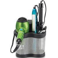 Blow Dryer Holder Curling Iron Bathroom Storage Organizer Tool Wall Mount Hair