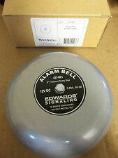New Edwards Bells 437-6E1 Fire Alarm Gray Gong