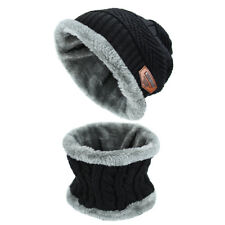item 4 Winter Beanie Hat Scarf Set Warm Knitted Skull Cap with Scarf for  Men and Women -Winter Beanie Hat Scarf Set Warm Knitted Skull Cap with Scarf  for ... 5c491492aa5