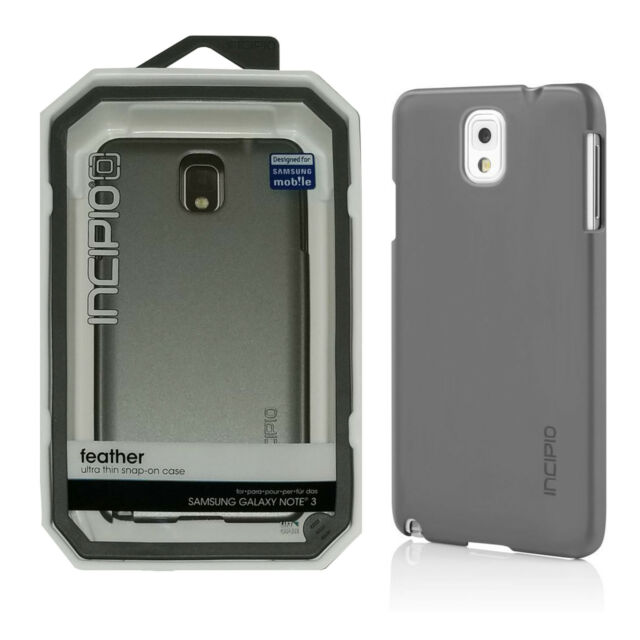 new arrival ffe58 78261 Incipio Feather Ultra Thin Hard Shell Snap-on Case for Samsung Galaxy Note 3