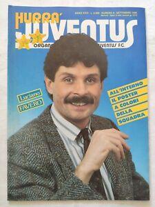 HURRA-039-JUVENTUS-N-9-SETTEMBRE-1986-POSTER-DELLA-SQUADRA-MICHEL-PLATINI-FAVERO