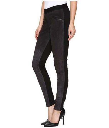 Blank Størrelse På Træk 744199731382 Grey Legging Ms Leather Suede Charcoal Nyc Front Black 29 rErFq