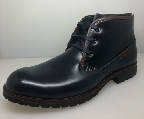 Mens Ankle Boots Dressy Casual Leather Lined Dress Shoes Lace up William