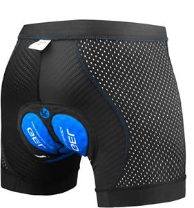 Mutande Pantaloncini da Ciclismo Bici Boxer uomo XTIGER colore blu