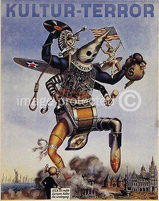 WW2 Dutch Propaganda 11x17 Poster Leest Storm Kultur Terror