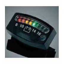Black Kuryakyn 4218 LED Battery Gauge