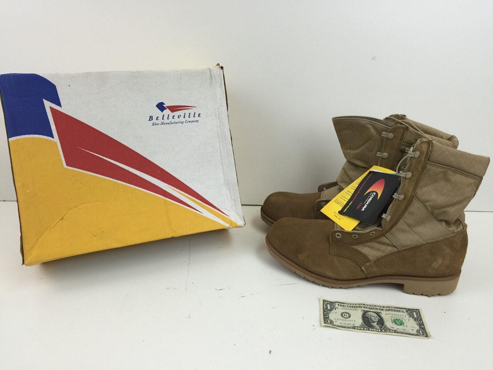Belleville Steel Toe Hot Weather Boot Style: Desert Size 12.0 W - 200 Des ST