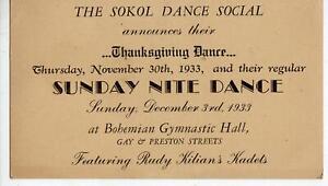 1933-THANKSGIVING-DANCE-SOKOL-SOCIAL-BOHEMIAN-GYMNASTIC-HALL-BALTIMORE-ESSEX