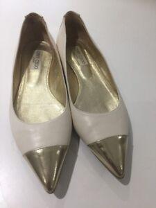 Designer Taille Jimmy Wendy k 39 Flats Chaussures 6 d'origine Choo u qxSCawzTx