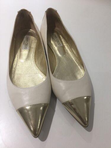 9a010c78ae4 Jimmy Choo d origine Taille Wendy Designer Chaussures Flats 39uk6 mNn0Pwv8yO