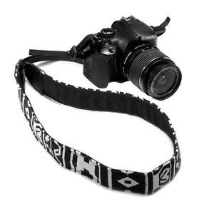 Correa bandolera de cuerro de Gris Sling Para Cámaras Slr Nikon Canon