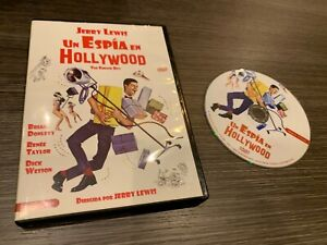 Un-Spy-in-Hollywood-DVD-Jerry-Lewis-Brian-Donlevy-Renee-Taylor-Dick-Wesson