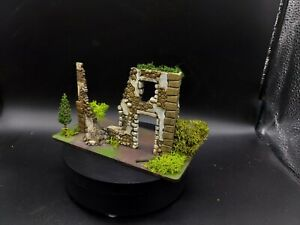 Dipinto 28mm BOLT ACTION rovinato Farm House #1 Ww2 WARLORD GAMES