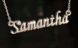 SAMANTHA-Personalized-Name-Necklace-with-Rhinestone-Gold-or-Silver-Tone